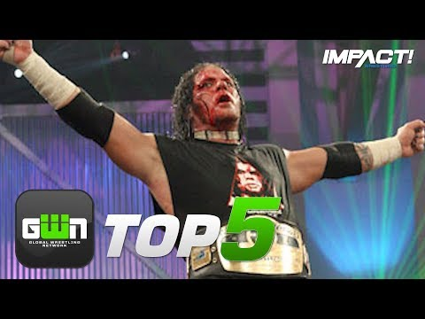 5 GREATEST Raven Matches in IMPACT Wrestling | GWN Top 5