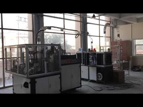 Paper cup machine in New Delhi customer's factory