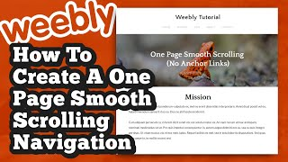 How to create smooth scrolling anchor links videos / InfiniTube
