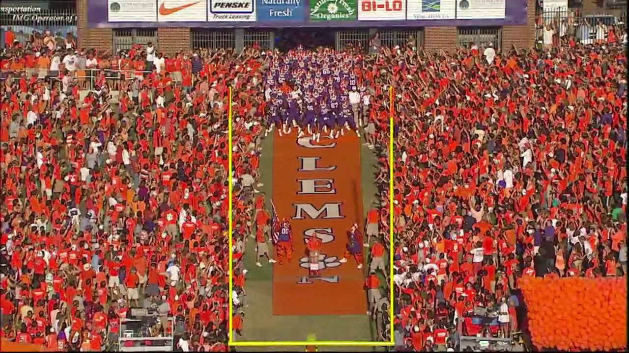 Clemson Football Hill Intro Video Youtube Howard is a legend in college football and in the early 1960s. clemson football hill intro video