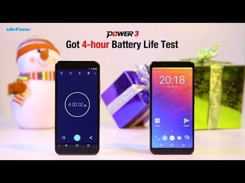 6080mAh Ulefone Power 3 Shows Incredible Endurance through A 4-hour Battery Test