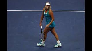 2017 US Open: Vandeweghe vs. Pliskova Match Highlights