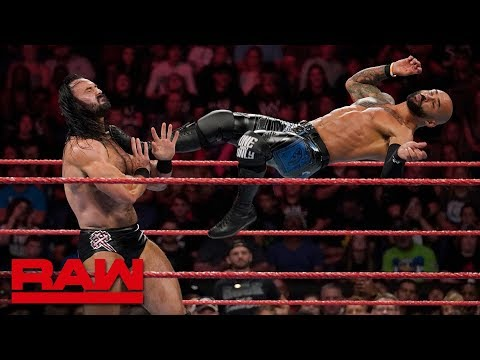 Ricochet Vs. Drew McIntyre – King Of The Ring First-Round Match: Raw, Aug. 26, 2019