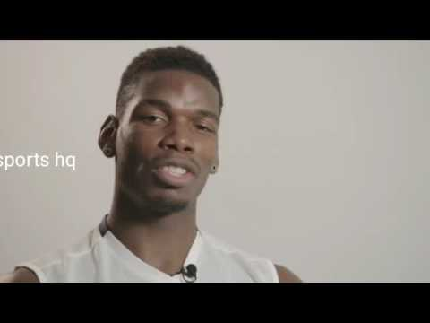 Paul pogba's exclusive interview about ManchesterUnited tittle hopes, José Mourinho & zlatan 2017