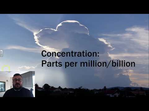 Concentration: Parts per million/billion