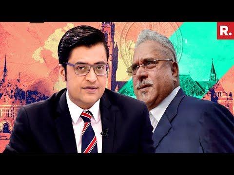Arnab Goswami Confronts & Grills Vijay Mallya | The Debate With Arnab Goswami