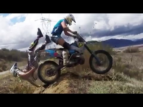 Epic Motocross & Funny Enduro Dirtbike Crashes 2016