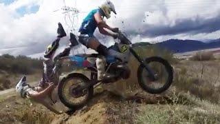 Epic Motocross & Funny Enduro Dirtbike Crashes 2016
