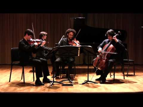 Brahms Piano Quartet in c minor op. 60, IV. Finale, Allegro comodo - Colburn Piano Quartet