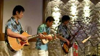 2009年1月15日 後楽園フラハートでのハワイアンライブ。