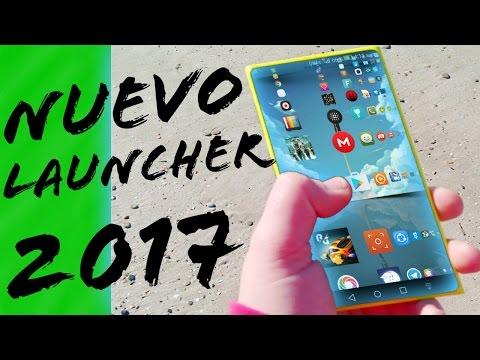 NUEVO LAUNCHER CON UN DISEÑO ÚNICO 2017 | LENS LAUNCHER | DESCARGAR GRATIS