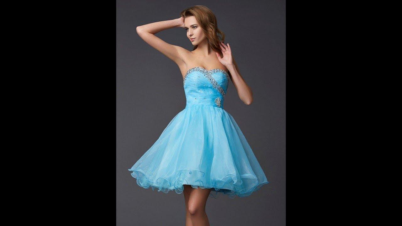 750cba7e93e A-Line Princess Sweetheart Sleeveless Beading Homecoming Dresses - Hebeos
