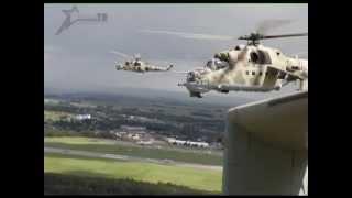 Военное обозрение 19.09.2013. Вертолетная база в Пружанах(История боевой вертолетной базы, расположенной недалеко от Пружан началась в 1973 году. В рамках обеспечения..., 2013-09-24T08:23:43.000Z)