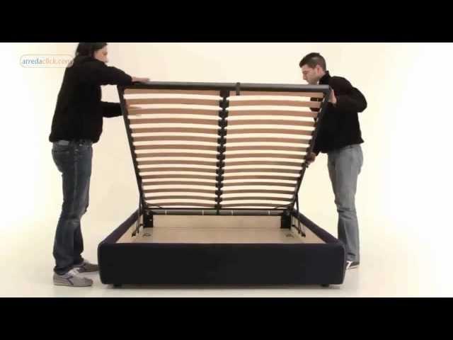 Come montare letti con contenitore   youtube
