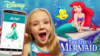 Calling Ariel From The Little Mermaid! *OMG* She Answers!! Flounder and Sebastian!