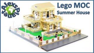 Lego Moc. Lego Summer House.
