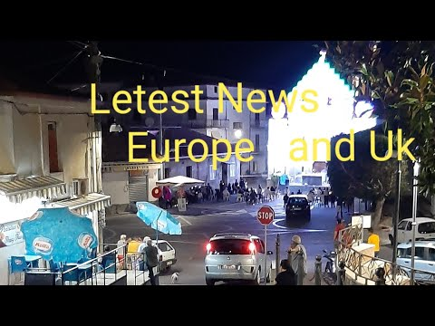 Letest News Europe And UK   /Letest update for Spain Lockdown     /Greece important  update  /German