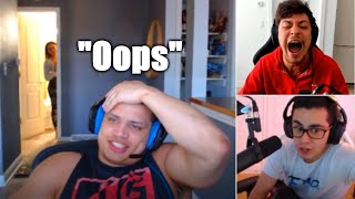 Tyler1 Proves to chat that Macaiyla isn't THICC, she walks in | TF Blade Leaks Yassuo's Info | LoL