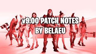 Fortnite v9.00 Patch Notes katsausta