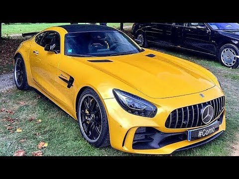 mercedes amg gtr yellow colour youtube. Black Bedroom Furniture Sets. Home Design Ideas