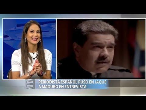 Maduro y la entrevista difícil