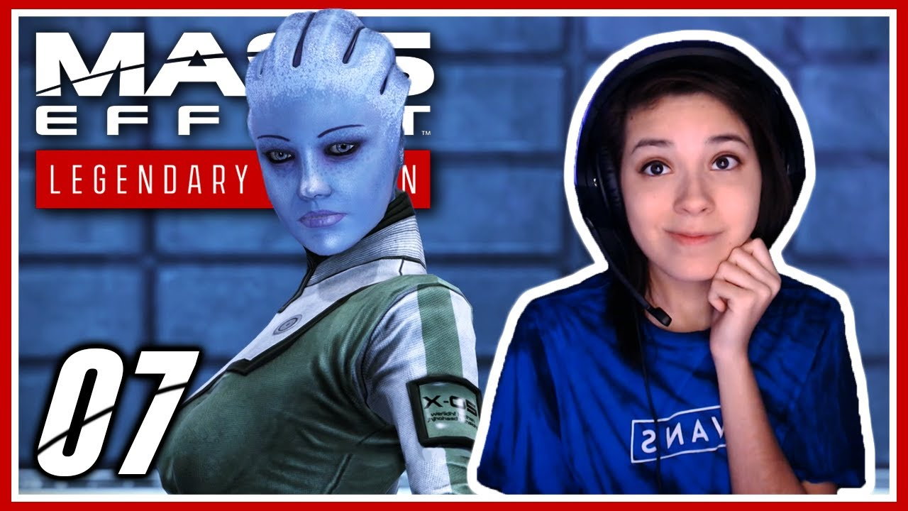 LIARA T'SONI | Mass Effect Legendary Edition Let's Play Part 7