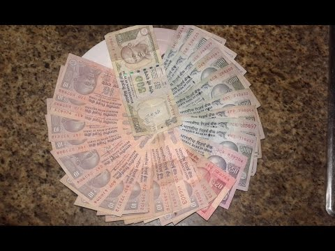 EXCHANGE INDIAN CURRENCY OUT OF INDIA  !! watch it complete.