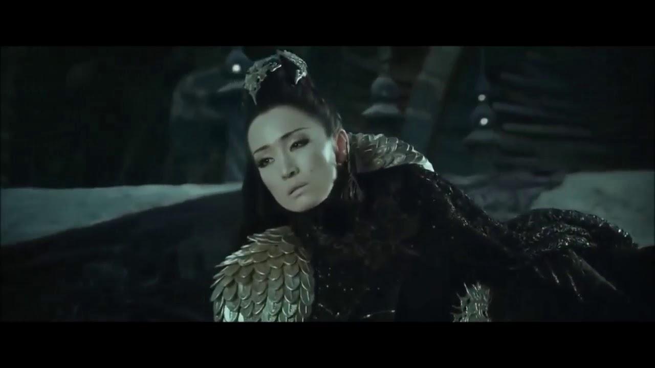 Gong Li Cast As Xian Lang In Mulan Baigujing The White Bone Demon In Monkey King Movie Youtube