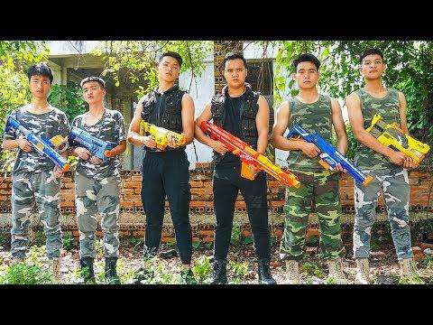 Hihahe Nerf War SWAT & Elite Military Nerf Guns Mercenary Group Nerf War