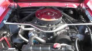 Jfamiens - Mustang 66 GT (démarrage vue AV)