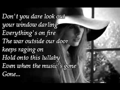 Taylor Swift - SAFE AND SOUND KARAOKE Instrumental (Sing with the Civil Wars)