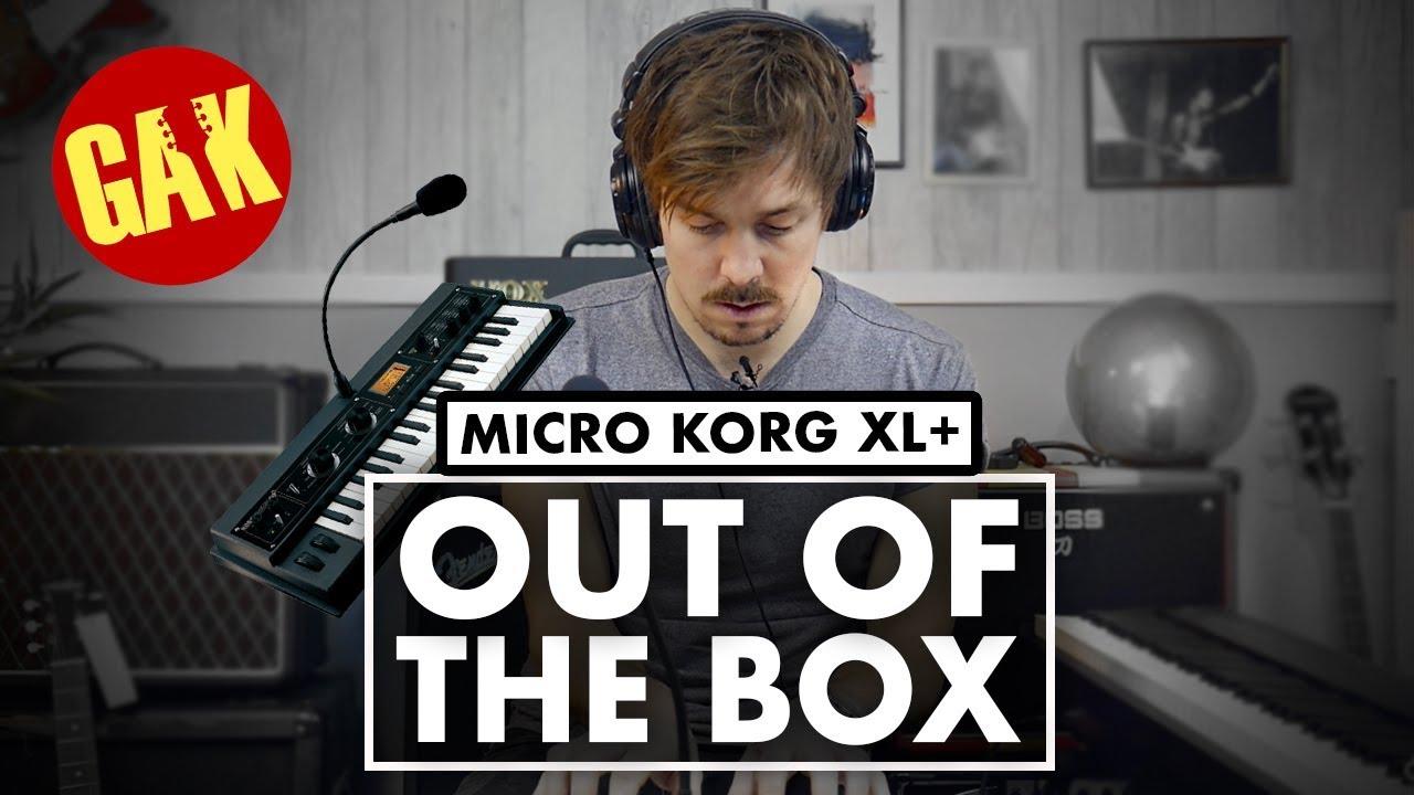 Vocoder DEMO   Mini Korg XL+