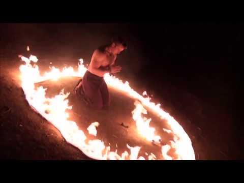 Tristan Court - Tribal Themed Fire Dance