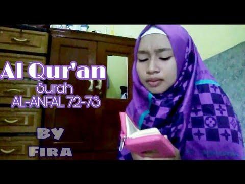 Al Qur'an Surah Al-ANFAL ayat 72-73 (Fira asira)