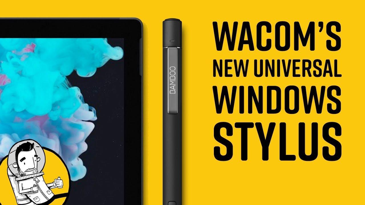 Wacom Bamboo Ink Plus VS The Surface Pen
