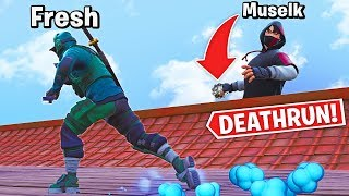 TEAMWORK DEATHRUN with Muselk!