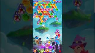 Bubble Witch 3 Saga Level 426 (First Look) Boosters
