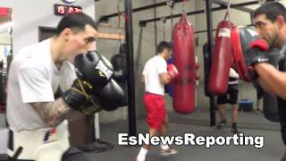 herbert acevedo working for his big fight in garden city kansas EsNews Boxing