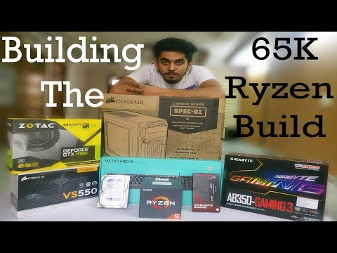 How To Build A Rs.65000 Ryzen 5 Gaming Build || PC Build India || Hindi