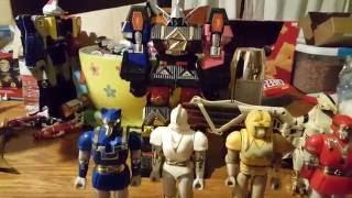 Power rangers zord line season 3.5 mighty morphin alien rangers