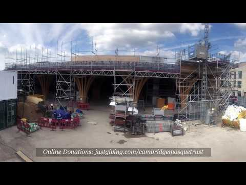 Track Our Building Progress! Cambridge Mosque, May 9th, 2018