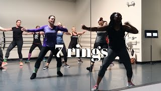 7 Rings by Ariana Grande | dance fitness choreography by Audresha