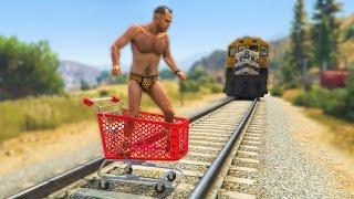 GTA 5 Funny Moments #144 (Fails and Random Gameplay Moments)
