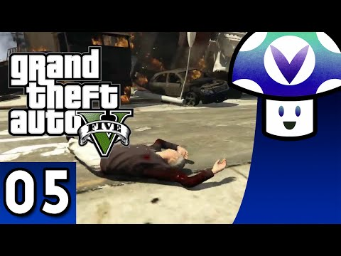 [Vinesauce] Vinny - Grand Theft Auto V (part 5) [Helix Snake Scripts and Mods]