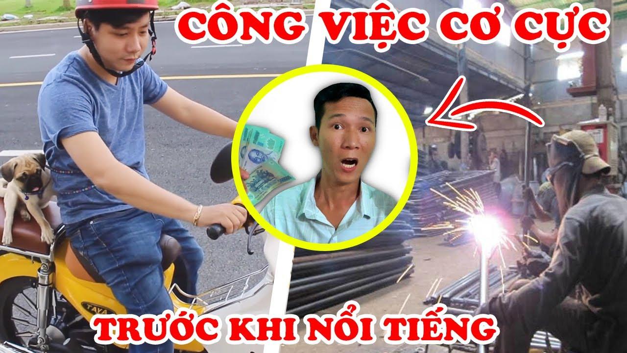 7 Công Việc Cơ Cực YOUTUBER Việt Nam Trước Khi Nổi Tiếng Khiến Fan Sốc
