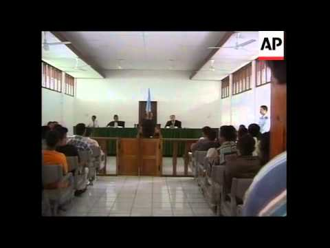 EAST TIMOR: MILITANTS TRIAL LATEST
