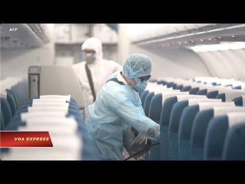 Ngành hàng không Việt Nam bị thiệt hại vì dịch corona (VOA)