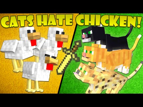 Thumbnail: Why Cats Hate Chickens - Minecraft