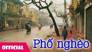 Phố Nghèo - Trần Tiến [Karaoke Lyrics MV]