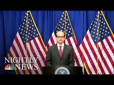 Labor Secretary Alex Acosta Defends 2008 Plea Deal With Jeffrey Epstein | NBC Nightly News